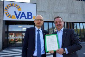 Persfoto VAB biedt pechhulp aantoonbaar duurzaam Photo de Presse VAB offre une assistance dépannage dont la durabilité peut être démontrée